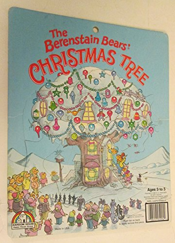 9780676059946: Berenstain Bears' Christmas Tree (Extra Thick Preschool Puzzle 11-15 Pieces)