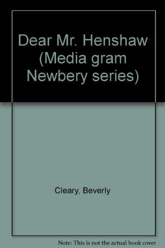 9780676308334: Dear Mr. Henshaw (Media gram Newbery series)