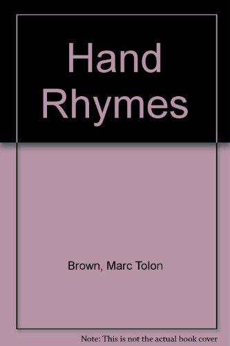 9780676318050: Hand Rhymes