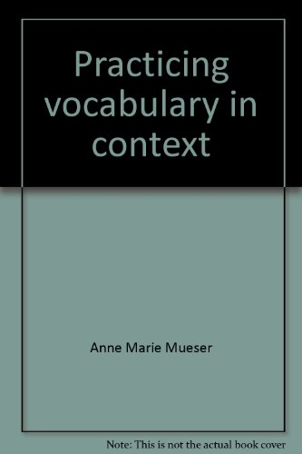 9780676390667: Practicing vocabulary in context: Teacher's guide