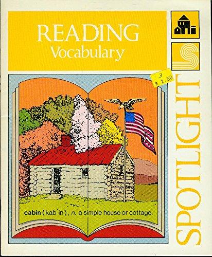 Spotlight Reading - Vocabulary (Volume 3): A. Abelman