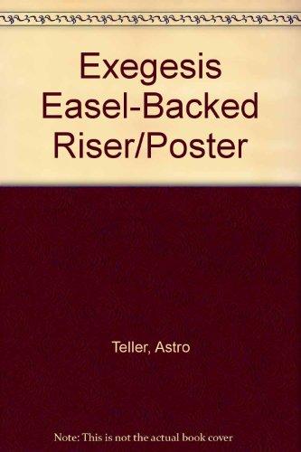 Exegesis Easel-Backed Riser/Poster: Astro Teller