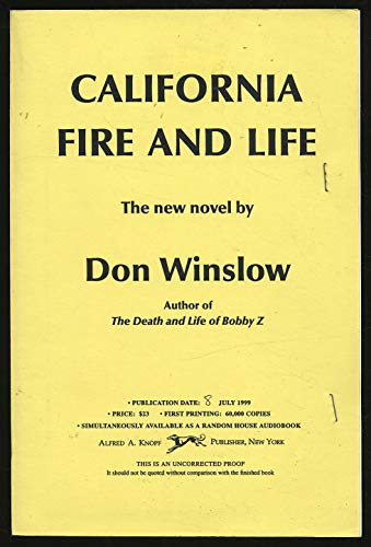 9780676549706: CALIFORNIA FIRE AND LIFE.