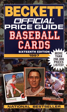 9780676600032: The Official 1997 Price Guide to Baseball Cards