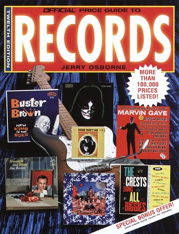 9780676600513: Official Price Guide to Records, 12th Edition (Twelfth Edition)