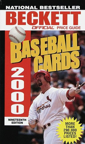 Official Price Guide to Baseball Cards 2000: 19th Edition: James Beckett