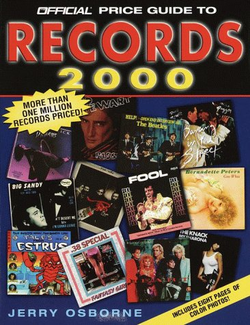The Official Price Guide to Records, 2000: Osborne, Jerry