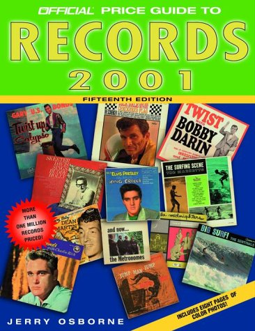 The Official Price Guide to Records, 2001: Osborne, Jerry