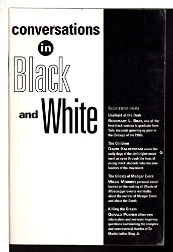 "9780676770865: Conversations in Black and White (Selections from ""Unafraid of the Dark"", ""The Children"", ""The Ghosts of Medgar Evers"", & ""Killing of the Dream"")"