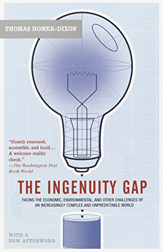 9780676972962: The Ingenuity Gap : How Can We Solve the Problems of the Future?