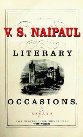 9780676975949: Literary Occasions: Essays