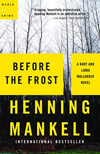 9780676977639: [Before the Frost] [by: Henning Mankell]