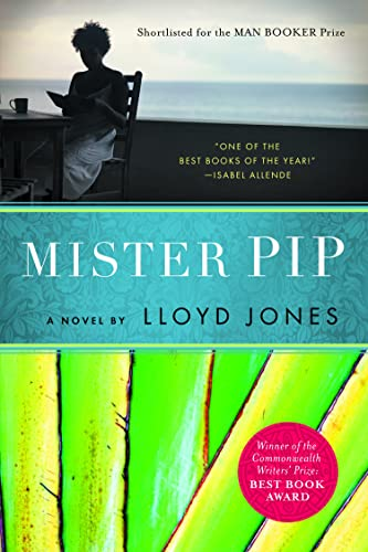 mister pip' by lloyd jones With his rumpled tropical suit and wide-eyed look of perpetual concern, hugh laurie's mr pip - the only white man on the island - could be a character out of a conrad novel but it's 1991 and he has been caught in the midst of a civil war in bougainville, where he's trying to lighten the spirits of the village children with readings from.