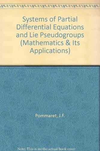 9780677002705: Systems Partial Different Equa (Mathematics & Its Applications)