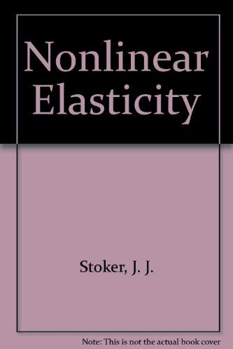 9780677006604: Nonlinear Elasticity