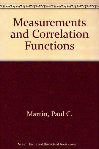 9780677024400: Measurements and Correlation Functions