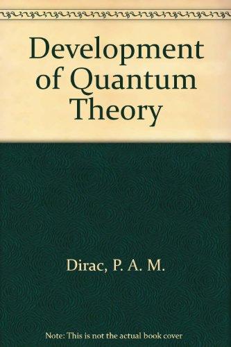 9780677029757: Development of Quantum Theory