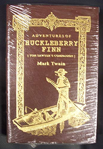 The Adventures of Huckleberry Finn: Tom Sawyer's Companion (2008 Brown Leatherbound Hardcover ...