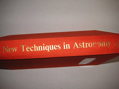 9780677135403: New Techniques in Astronomy (English and Russian Edition)