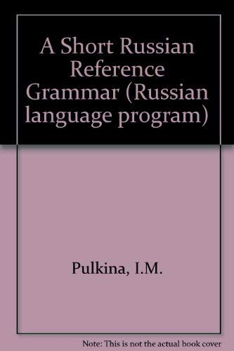 9780677208206: Short Russian Reference Gramme