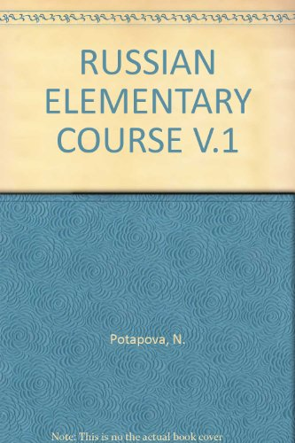 9780677208909: RUSSIAN ELEMENTARY COURSE V.1