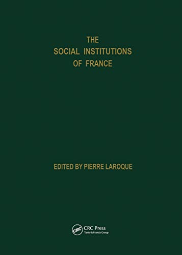 Social Institutions of France: Laroque, P.
