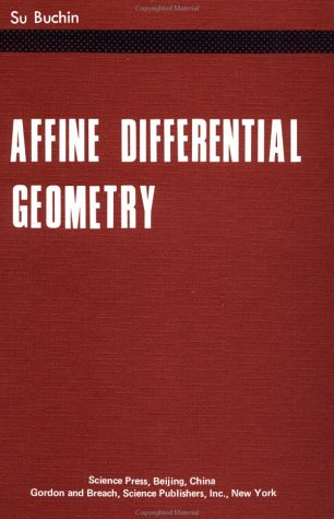 9780677310602: Affine Differential Geometry