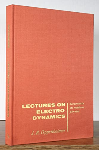 9780677401300: Lectures on Electrodynamics (Documents on Modern Physics)