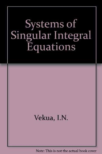 9780677613406: Systems of Singular Integral Equations