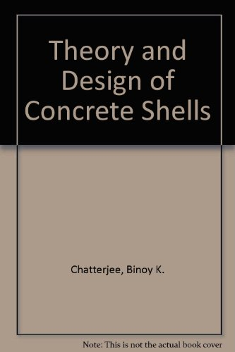 9780677617404: Theory and Design of Concrete Shells
