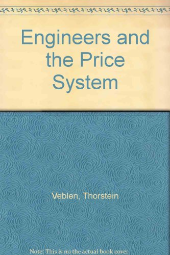 9780678000588: Engineers and the Price System