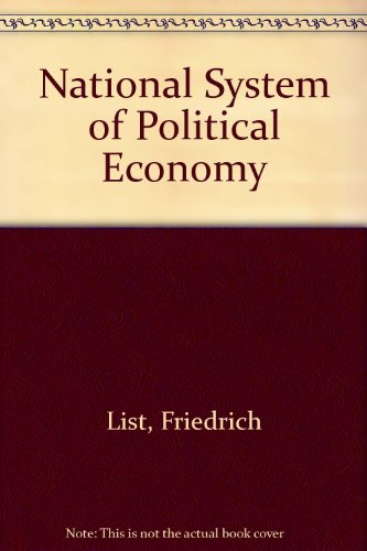 9780678001547: National System of Political Economy
