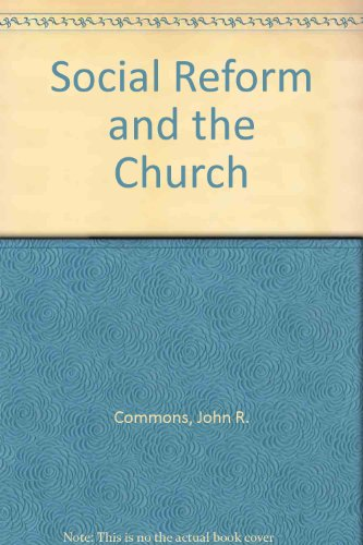 9780678002865: Social Reform and the Church