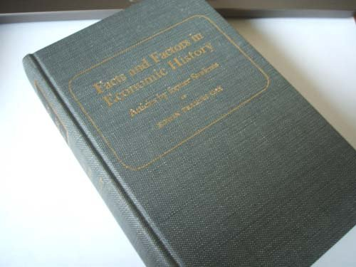 9780678003091: Facts and Factors in Economic History: Articles by Former Students