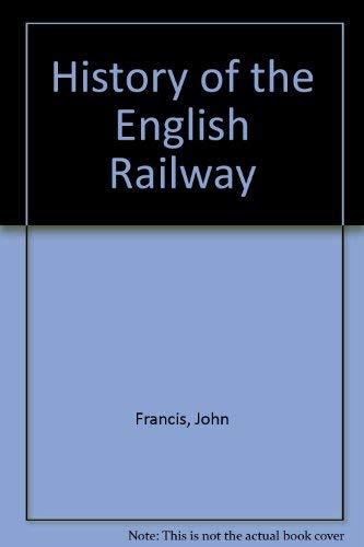 9780678003442: History of the English Railway
