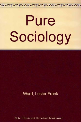 9780678006535: Pure Sociology (Man in society)