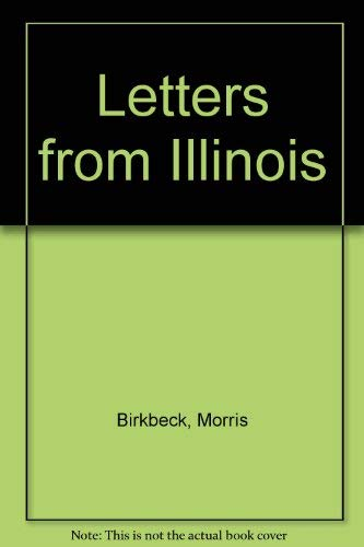 9780678006863: Notes on a Journey in America: From the Coast of Virginia to the Territory of Illinois, to Which Is Added Letters from Illinois (America through European eyes)