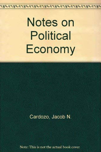 Notes on Political Economy (Reprints of Economic Classics Series)