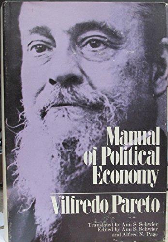 Manual of Political Economy: Vilfredo Pareto