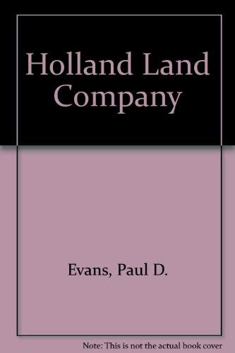 9780678010655: Holland Land Company