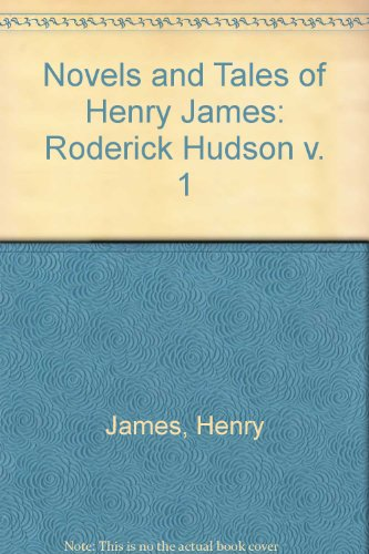 Roderick Hudson: Henry James