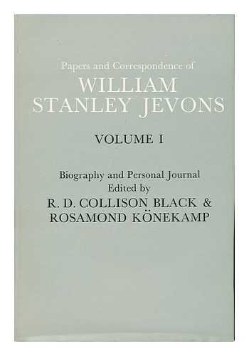Biography and personal journal.: Jevons, W. Stanley.