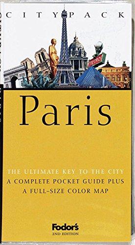9780679000013: Citypack Paris (2nd ed)