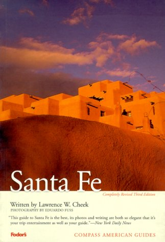 9780679002864: Compass American Guides: Santa Fe, 3rd Edition (Full-color Travel Guide)