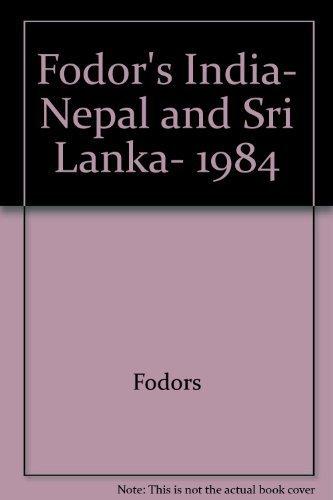 9780679010135: Fodor's India, Nepal and Sri Lanka