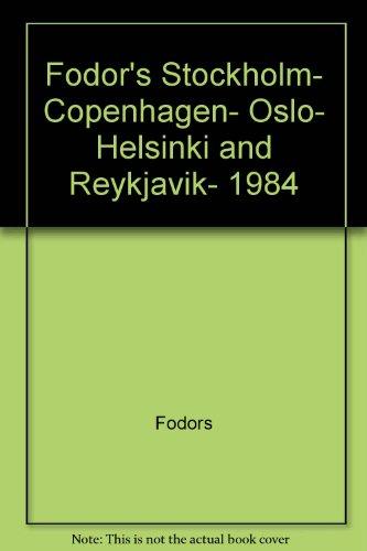 FD Stockholm 1984: Fodor's