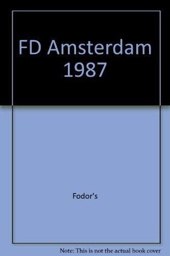 FD Amsterdam 1987: Fodor's