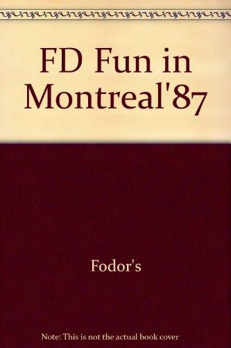 FD Fun in Montreal'87: Fodor's