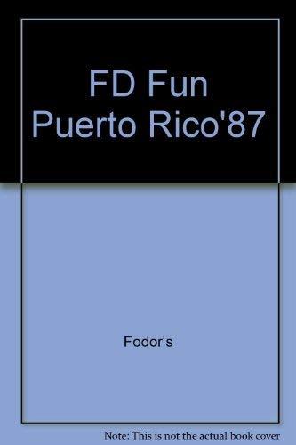FD Fun Puerto Rico'87: Fodor's