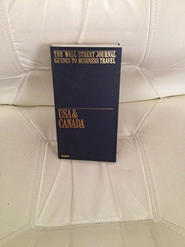 9780679019831: The Wall Street Journal Guides to Business Travel USA & Canada